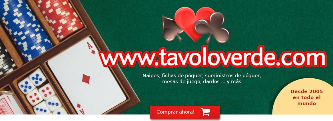 Tavoloverde la tienda electrónica para jugar a las cartas adicto.